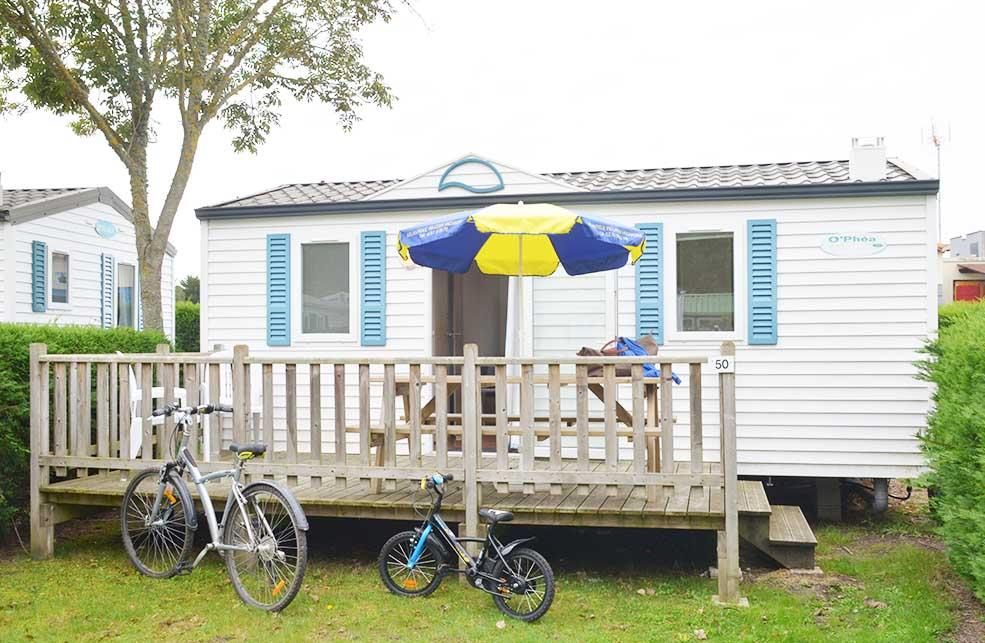 Mobil Home 4 Places Confort  avec terrasse bois
