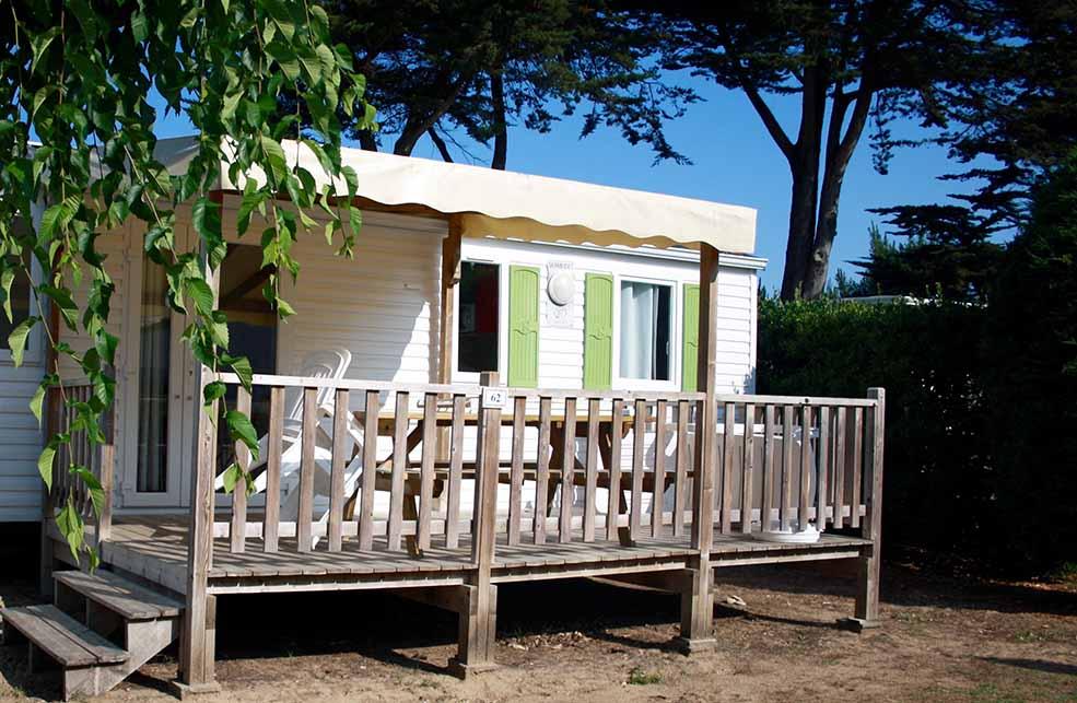 Mobil Home 4 Places Grand Confort avec terrasse bois